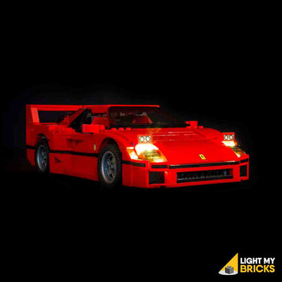 LEGO LED Light Kit for 10248 Ferrari F40 Front 2