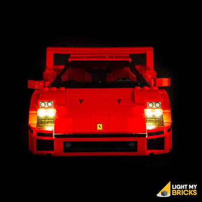 LEGO LED Light Kit for 10248 Ferrari F40 Straight