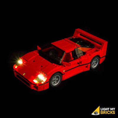 LEGO LED Light Kit for 10248 Ferrari F40 Front