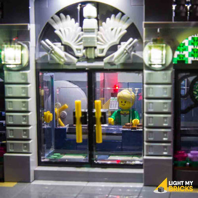 LEGO LED Light Kit for 10251 Brick Bank Doors