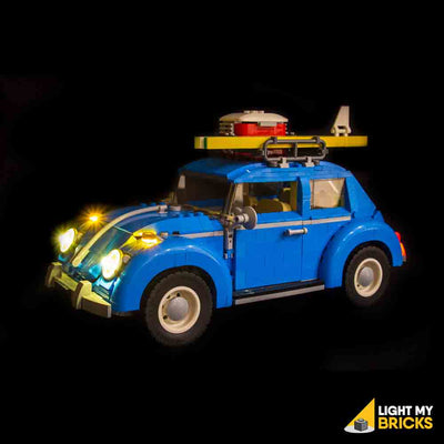LEGO LED Light Kit for 10252 Volkswagen Beetle Side