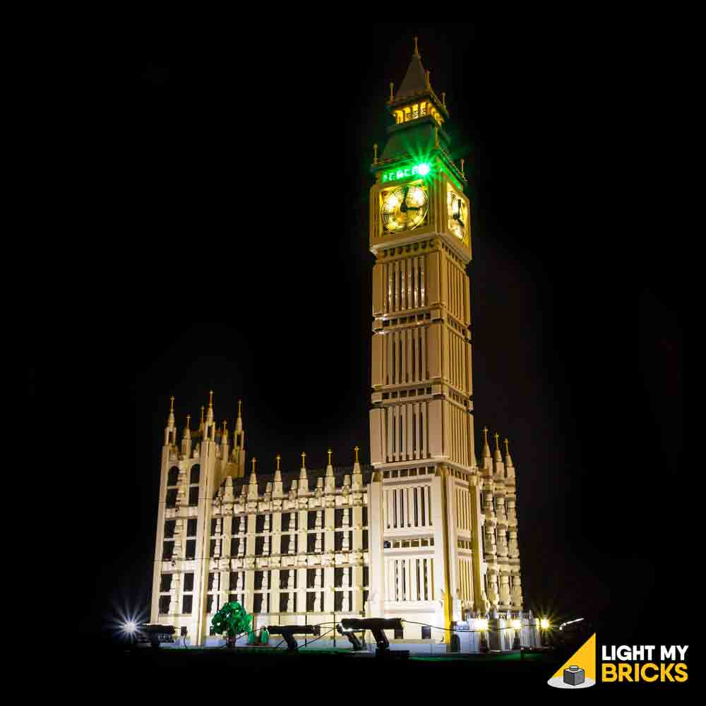 LEGO LED Light Kit for 10253 Big Ben Front