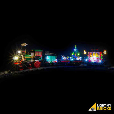 LEGO LED Light Kit for 10254 Winter Holiday Train Side