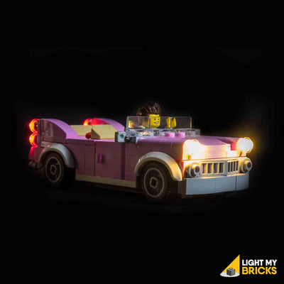 LEGO LED Light Kit for 10260 Downtown Diner Car