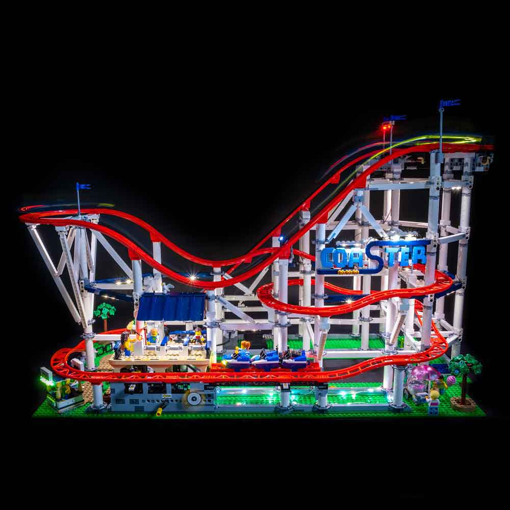 LEGO Roller Coaster #10261 Light Kit