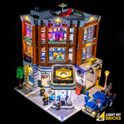 LEGO LED Light Kit for 10264 Corner Garage Bird's Eye View