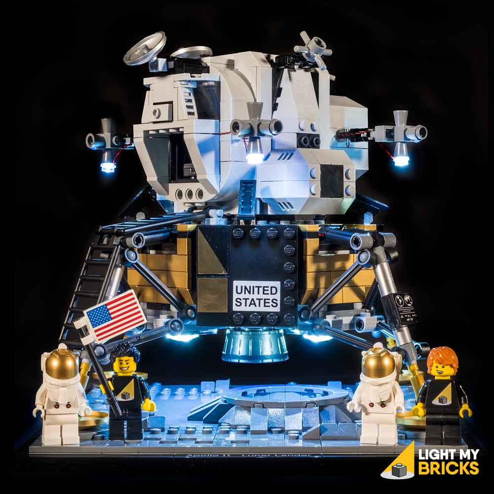 LEGO NASA Apollo 11 Lunar Lander #10266 Light Kit
