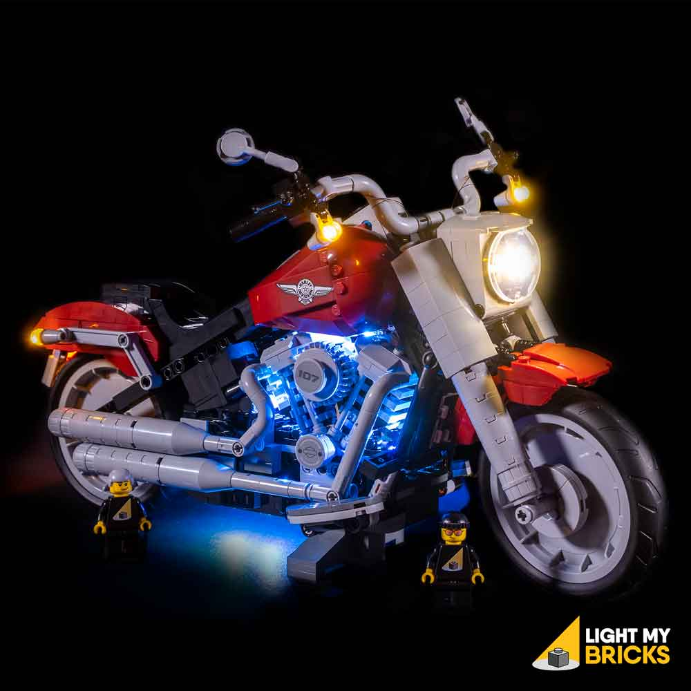 LEGO Harley-Davidson Fatboy #10269 Light Kit