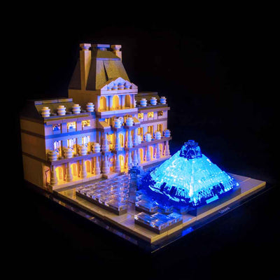 LEGO Louvre #21024 Light Kit