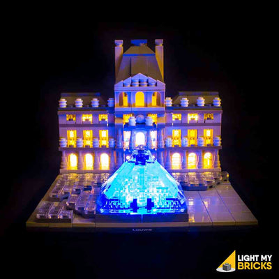 LEGO LED Light Kit for 21024 Lourve Straight
