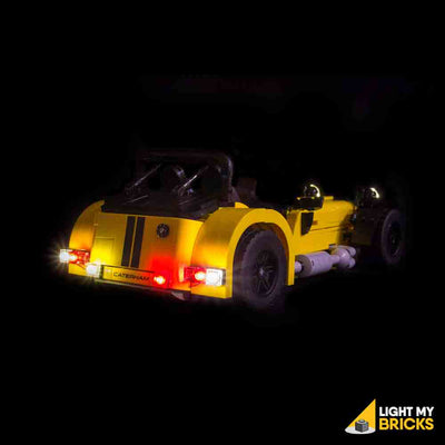 LEGO LED Light Kit for 21037 Caterham Seven 620R Rear Lights