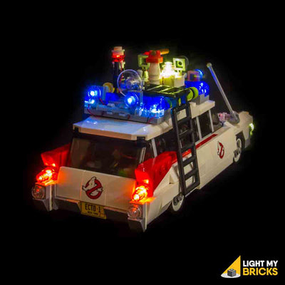 LEGO LED Light Kit for 21108 Ghostbusters Ecto-1 Rear