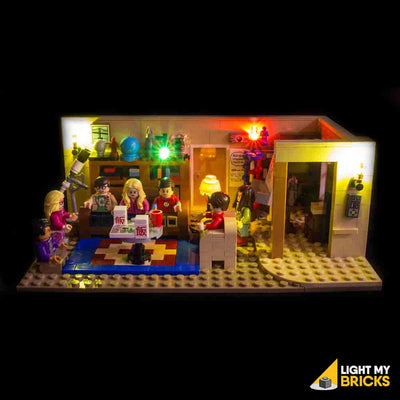 LEGO LED Light Kit for 21302 The Big Bang Theory Straight