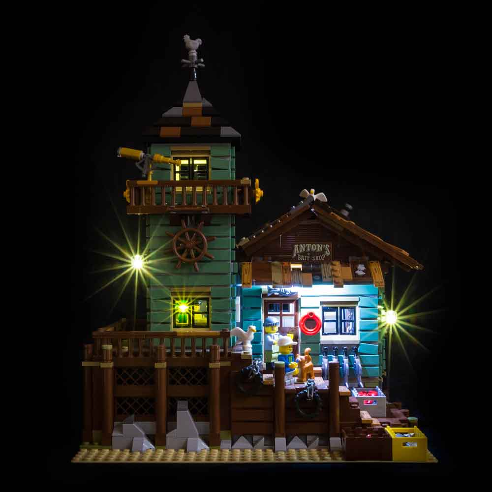 LEGO Old Fishing Store #21310 Light Kit