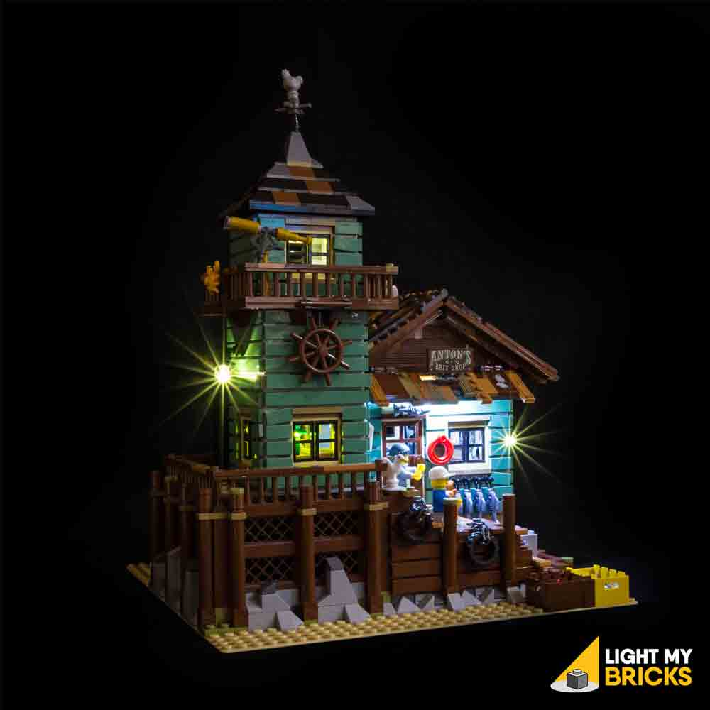 LEGO LED Light Kit for 21030 Old Fishing Store Front