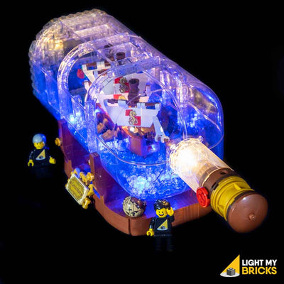 LEGO LED Light Kit for 21313 Ship In A Bottle Top
