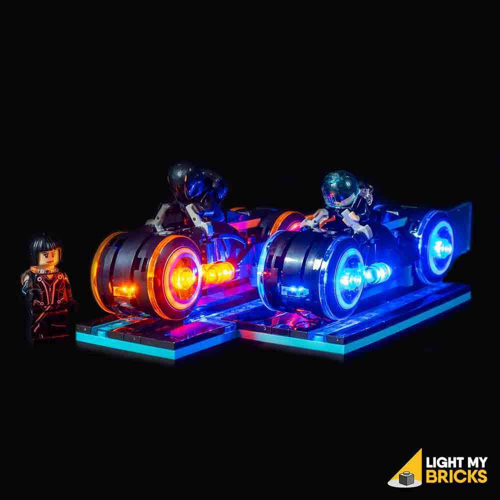 LEGO LED Light Kit for 21314 TRON Legacy Front