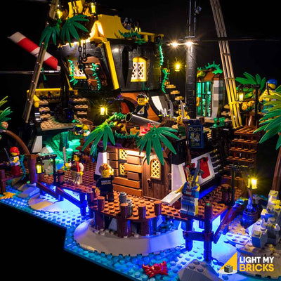 LEGO Pirates of Barracuda Bay #21322 Light Kit