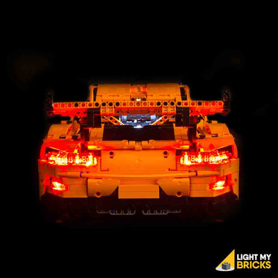 LEGO LED Light Kit for 42056 Porsche 911 GT3 RS Rear