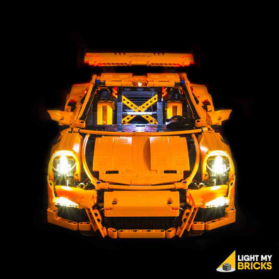 LEGO LED Light Kit for 42056 Porsche 911 GT3 RS Straight