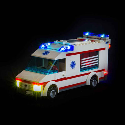LEGO Ambulance #4431 Light Kit