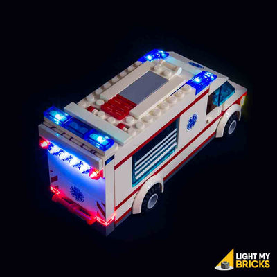 LEGO LED Light Kit for 4431 City Town Ambulance Top