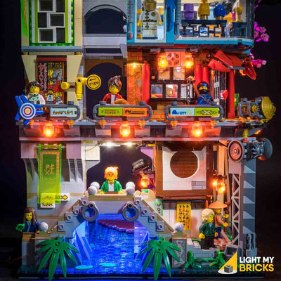 LEGO LED Light Kit for 70620 Ninjago City Water Tunnel