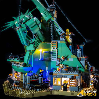 LEGO LED Light Kit for 70840 Welcome to Apocalypseburg Behind