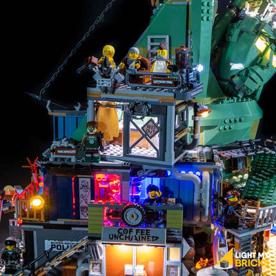 LEGO LED Light Kit for 70840 Welcome to Apocalypseburg Side