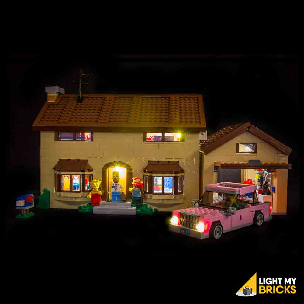 LEGO LED Light Kit for 71006 The Simpsons House Front