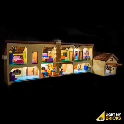 LEGO LED Light Kit for 71006 The Simpsons House Open