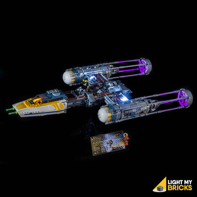 LEGO LED Light Kit for 75181 Star Wars UCS Y-Wing Front