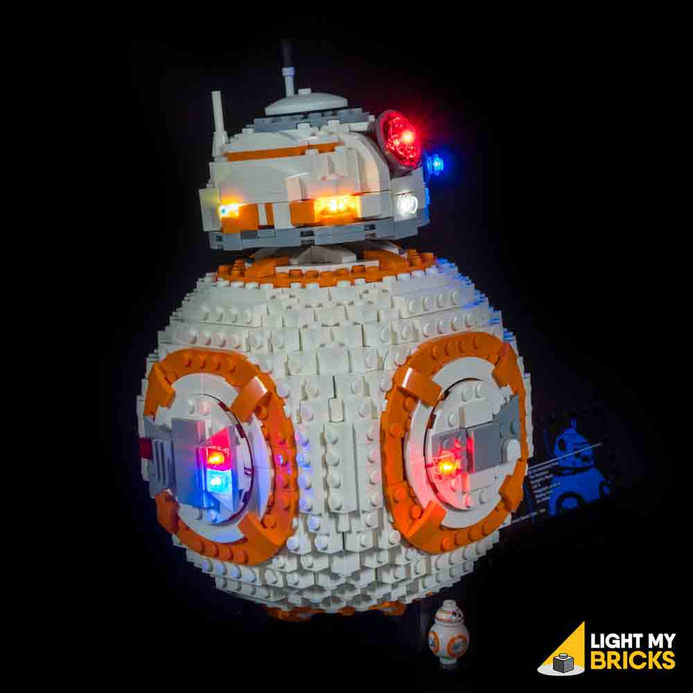 LEGO LED Light Kit for 75187 BB-8 Side