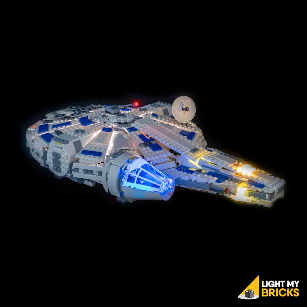 LEGO LED Light Kit for 75212 Star Wars Kessel Run Millennium Falcon Front