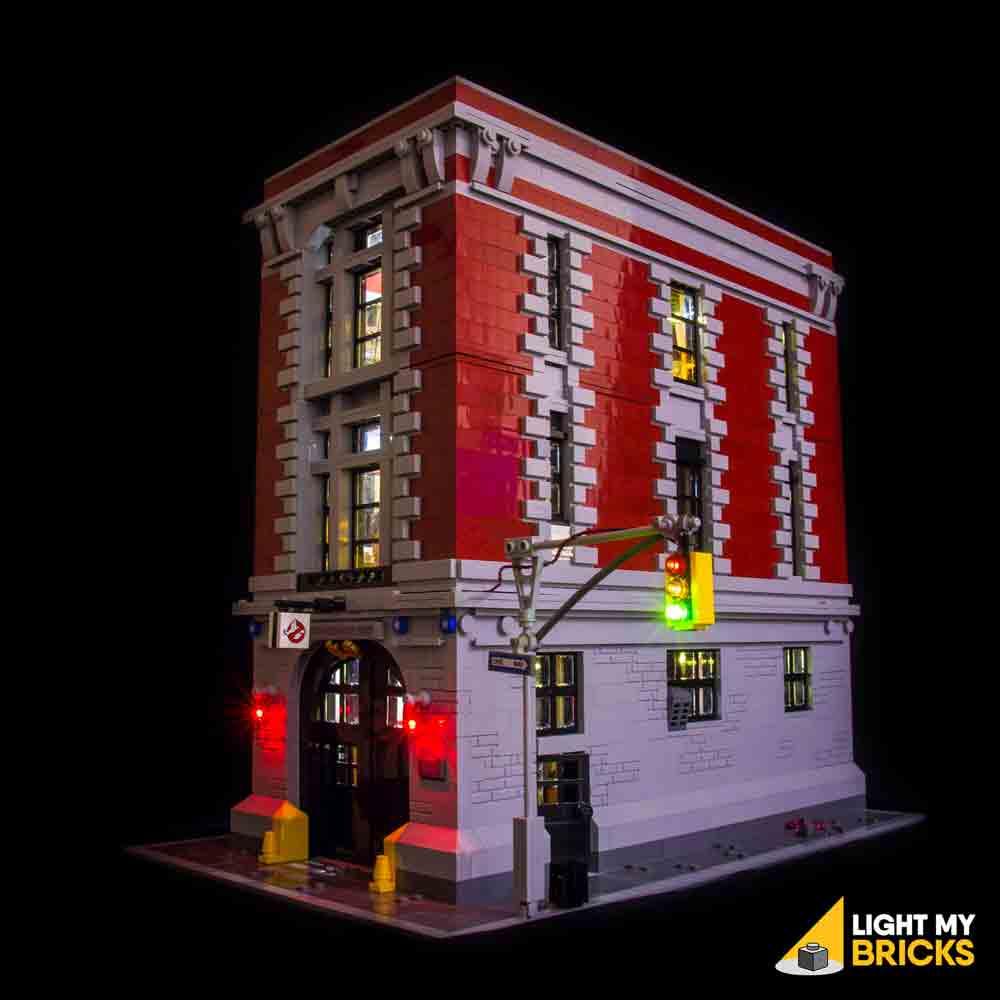 LEGO LED Light Kit for 75827 Ghostbusters Firehouse Headquarters Front