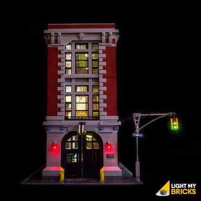 LEGO LED Light Kit for 75827 Ghostbusters Firehouse Headquarters Straight