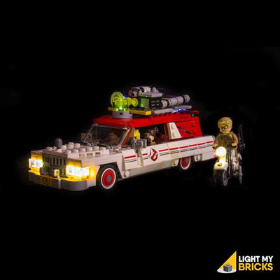 LEGO LED Light Kit for 75828 Ghostbusters Ecto 1 & 2 Front