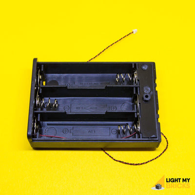Light My Bricks LEGO Lighting Component - AA Battery Pack Inside