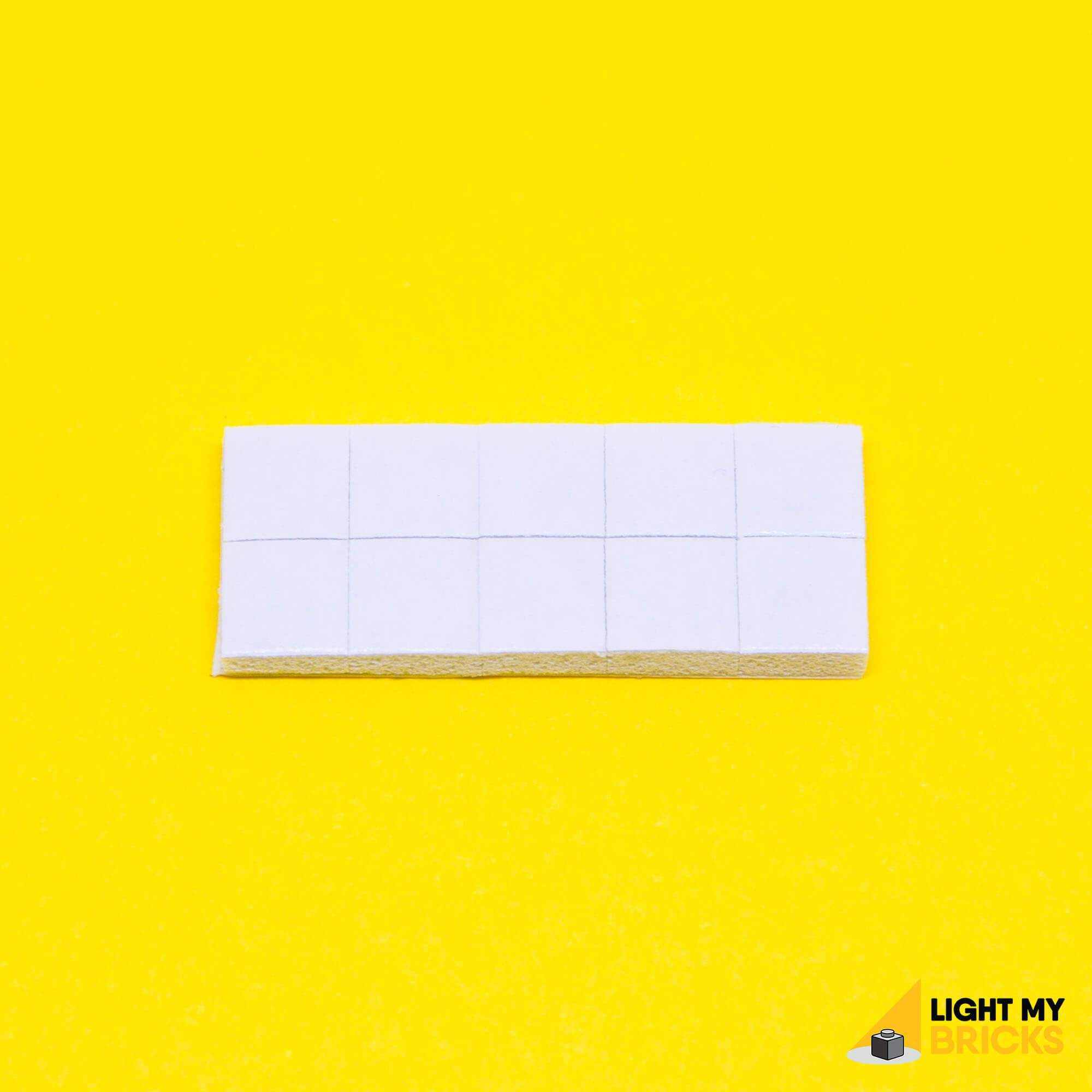 Light My Bricks LEGO Lighting Component - Adhesive Squares