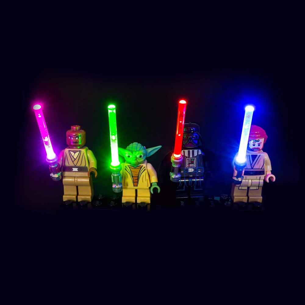 LED LEGO Star Wars Lightsaber Kit