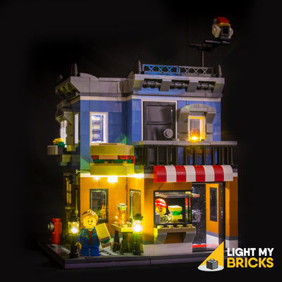 Light My Bricks LEGO Lighting Component - Starter Kit Mixed Lights 6 Lights - Example