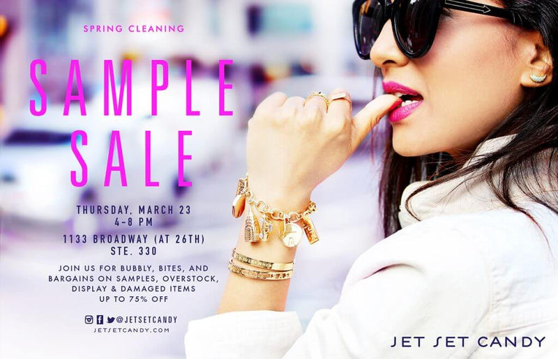SPRING CLEANING SAMPLE SALE IN NYC