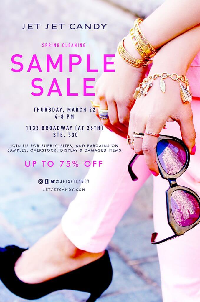 SPRING CLEANING SAMPLE SALE!