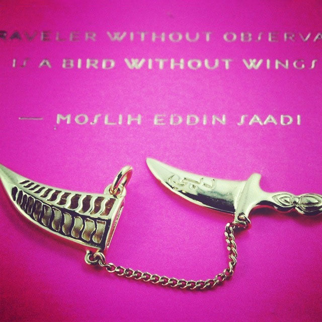 SNEAK PEEK: JET SET CANDY KHANJAR DAGGER CHARM