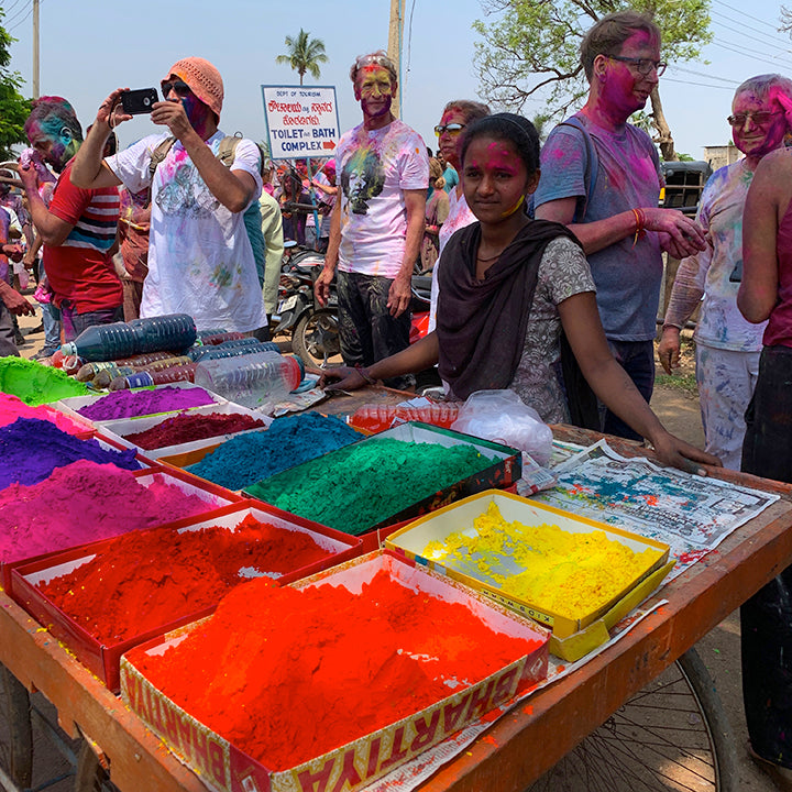 Holi Hijinks in Hampi, India