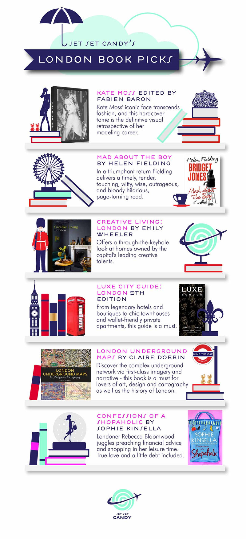 LONDON BOOK PICKS