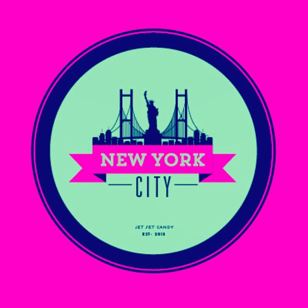 NYC VINTAGE LUGGAGE STICKER