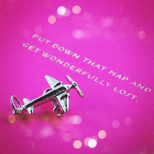 SNEAK PEEK ~ PROPELLER PLANE CHARM