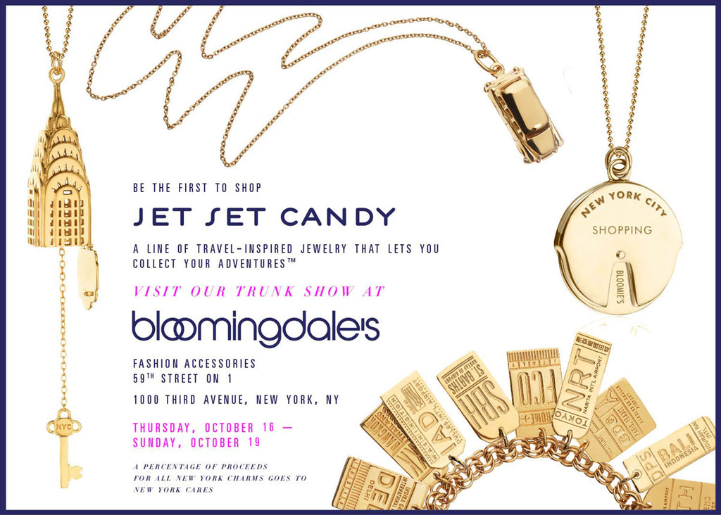 UPCOMING NYC BLOOMINGDALE'S TRUNK SHOW