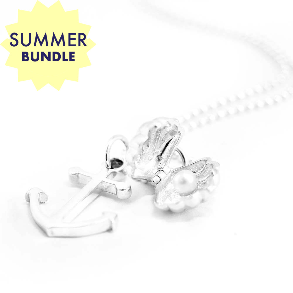 Silver Summer Necklace Bundle